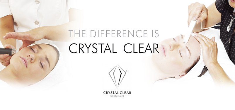 The difference is Crystal Clear Skincare