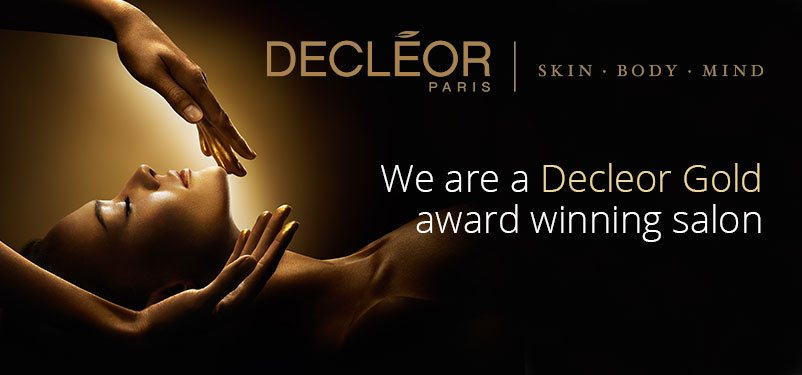 Decleor Gold award winning salon in Newcastle-under-Lyme, Staffordshire